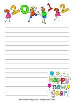 Several Printable, Color, New Year Writing Papers - - Pinned by @PediaStaff – Please visit http://ht.ly/63sNt for all (hundreds of) our pediatric therapy pins