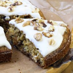 This zucchini cake is moist and healthy cake option. There is a little cinnamon and clove flavor in the frosting which is a nice compliment to the cake. Zucchini Cake Recipe from Grandmothers Kitchen. Frosting Recipes, Cake Recipes, Dessert Recipes, Just Desserts, Delicious Desserts, Yummy Food, Healthy Cake, Healthy Sweets, Mini Cakes