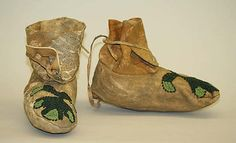 Moccasins American ca. 1800s