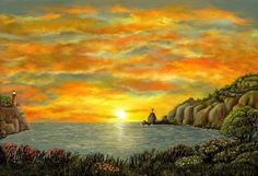 Sunset of Hope by Ave Hurley of ArtRave BOGO Meml Day by AveHurley, $3.00