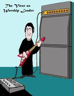 Vic the Vicar!