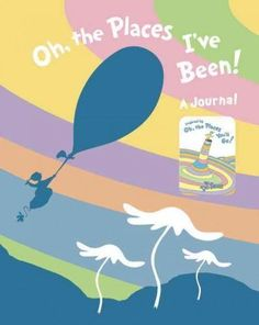 A journal for sophisticated Seuss fans! This all new hardcover journal inspired by Dr. Seuss's Oh, the Places You'll Go! features inspirational quotes and color artwork throughout! A blank book that i