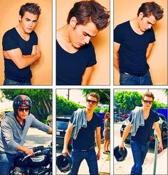 Paul Wesley | The Vampire Diaries. If i ever became a celebrity i'd go straight to him or zac efron and hope i would be able to get one of them to date me haha ;p
