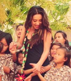 Shay working with the Somaly Mam organization.