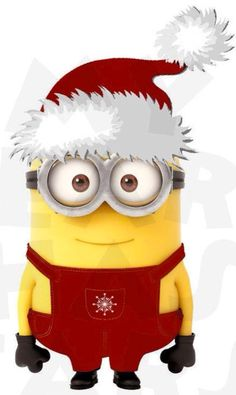 1000  images about A Very Minions Christmas on Pinterest | Minions ...