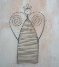 Handmade Wire Angel for Christmas |Pinned from PinTo for iPad|