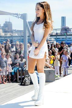 ariana grande | via | - VeTheBox Fashion Lifestyle  dresses,girl,fashion share by vthebox.com