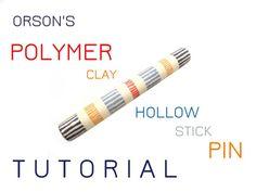 Orson's tutorial e-book polymer clay Hollow by NikolinaOtrzan
