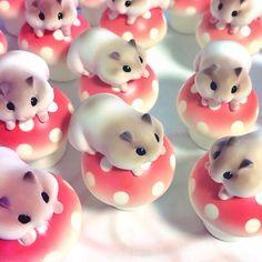 Hamuco Miniature Hamster - Mushroom