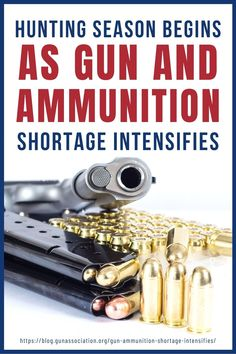 Let's look back on this article last year when hunting season has arrived but there was an ammunition shortage they have to deal with. How did this situation affect the hunting season? Let's find out! #huntingseason #ammoshortage #ammunition #gunassociation Hunting Tips, Hunting Rifles, Deer Processing, Hunting Season, Survival Life, Guns And Ammo, Hunters, Seasons, Hunting Guns