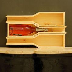 Orazio modular stackable Wine Shelf