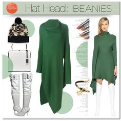 Hat Head: Beanies by drn57 on Polyvore featuring мода, Marques'Almeida, Paul Frank and beanies