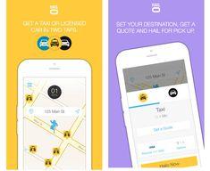 Halio Taxi App