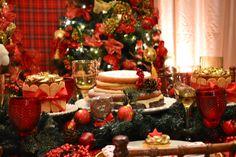 Mesa Infantil - Editorial Natal- Home Decor- Decoração Festas- Mesas Decoração- Natal- Kids