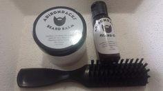 Adirondacks Beard Oil kit 1oz + Beard Balm 2oz + Beard Brush -Beard kit For Men #Adirondacks