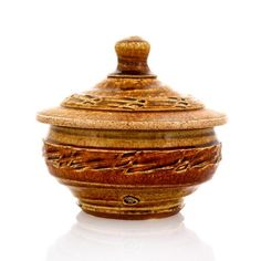 Jar by Brandon Phillips. Available at ClayAkar.
