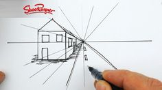Let your drawing really pop off the page! Learn how to draw in 3D, using one point, two point, and three point perspective, horizon lines, and vanishing points.