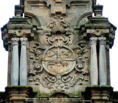 Escudo de Obispo Marcelino Siuri Cerca del Palacio Arzobispal nos encontramos la Iglesia Santa María Madre en la que podemos ver el escudo de armas del Obispo Marcelino Siuri.