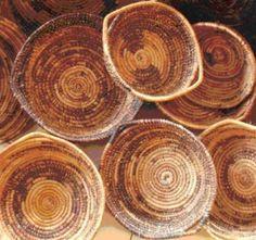 Banana Leaf baskets, Uganda