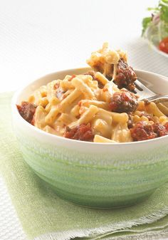 Pasta Pronto Italiano -- Got a box of KRAFT Mac & Cheese? Just add a few ingredients to get this hearty Pasta Pronto Italiano recipe for four--with just 5 minutes of prep time.