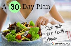 A 30-day plan to stick with your diet and fitness plan through the holidays. Awesome advice!