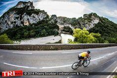 Triathlon des Gorges de l'Ardèche Triathlètes en action!!! .:. OnlineTri.com