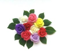 5 pieces rose blanks for jewelryflowers for decorationsroses
