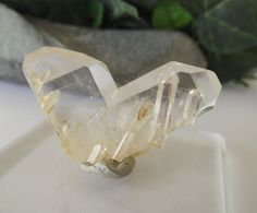 Rare Japan Law Twin Crystal with Multiple by GaiasTreasure on Etsy