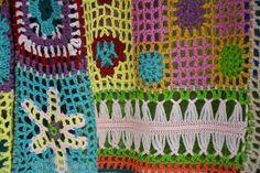 Items similar to Boho Crochet Top Long Sleeves Women Sweater Bohemian Clothing on Etsy Boho Crochet, Crochet Winter, Crochet Shawl, Vintage Crochet, Free Crochet, Crochet Top, Boho Hippie, Crochet Squares, Beautiful Crochet