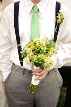 Green and Yellow Wedding Ideas LK
