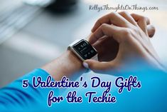 Looking for a gift for the Tech & Gadget lover- we have some ideas for you!  http://kellysthoughtsonthings.com/5-valentines-day-gifts-techie/