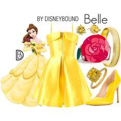 Disney Bound - Belle (Found on DisneyBound Polyvore)