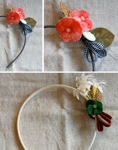 Make Your Own Vintage Headband from Picsity.com