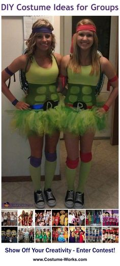 Ninja Turtles! DIY Halloween Costume Ideas