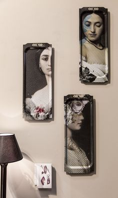 Fleur Blanche collection of trays by ibride. #ibride #tray #artwork #design #home #decoration #wall #painting #interior #kitchen #tableware
