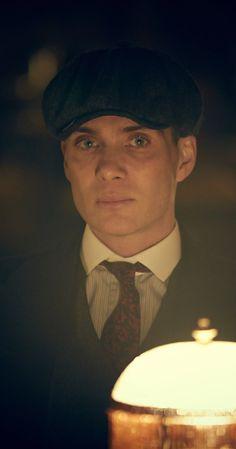 "Cillian Murphy, Irish actor, shown here in ""Peaky Blinders"" (2013)"