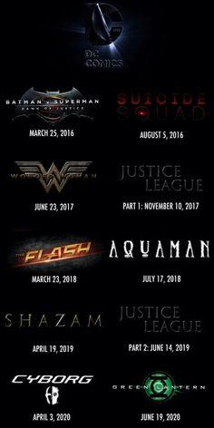 DC Comics ~ DC Cinematic Universe