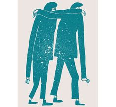 Together print, silkscreened by Bloom Screen Printing Co.
