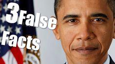| Three False Facts | #7- Barack Obama