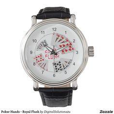 Poker Hands - Royal Flush Watches