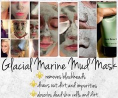 Glacial Marine Mud Mask - use it for any bizarre thing you can think off - helping to remove splinters, for dry, eczema prone skin, bee stings, cold sores and so much more! Beauty Care, Beauty Skin, Health And Beauty, Marine Mud Mask, Glacial Marine Mud, Dark Eye Circles, Anti Aging Supplements, Best Skincare Products, Anti Aging Cream