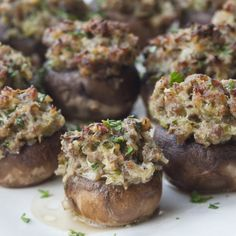 Sausage-Stuffed Mushrooms - Barefoot Contessa
