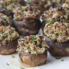 Sausage-Stuffed Mushrooms - Barefoot Contessa