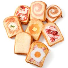 Marude Pan Like a Bread Sliced Bread Pouches 1