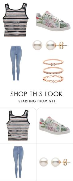 """Nice day"" by karinacabrera ❤ liked on Polyvore featuring Everlast, adidas, Topshop and Accessorize"