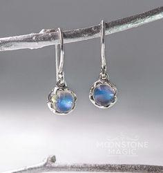 Moonstone Earrings - Luna Lux