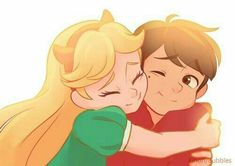 Starco (star butterfly x Marco Diaz) Starco, Star E Marco, Excuse Moi, Animation, Star Butterfly, Fan Art, Star Vs The Forces Of Evil, Force Of Evil, Star Wars