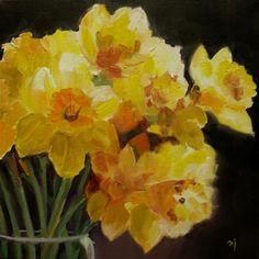 DPW  Original Fine Art Auction - Spirit of Daffodils - © Nel Jansen