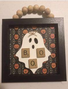 Rustic Halloween, Holidays Halloween, Halloween Crafts, Holiday Crafts, Happy Halloween, Halloween Decorations, Halloween Ideas, Holiday Decor, Fall Wood Crafts