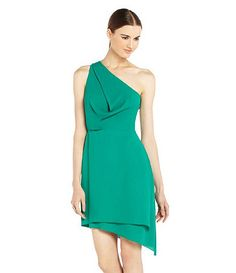 Love this color! It is so hard to decide. Knee Length Dresses, Dillards, Dress To Impress, One Shoulder, Shoulder Dress, Color, Shopping, Wedding Ideas, Women